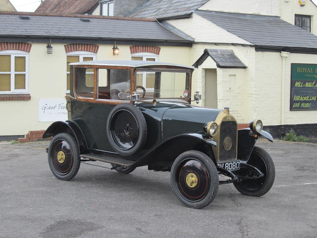1922 Mathis 8/15 'Coach'
