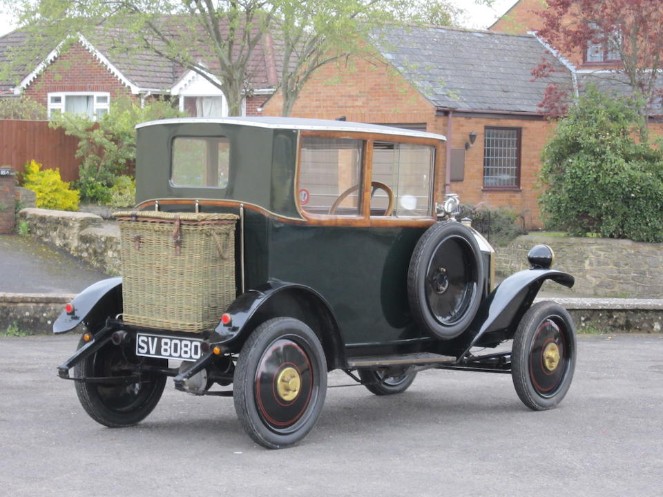 c.1923 Mathis 8/15CV Coach  Chassis no. 15973 Engine no. 37801