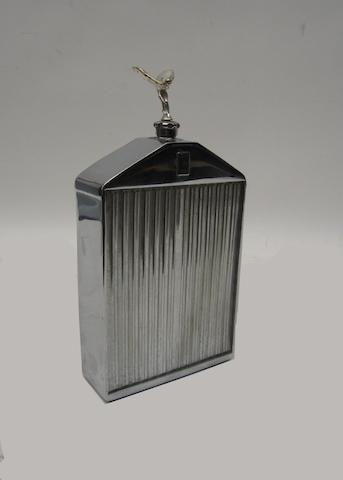 A Rolls Royce radiator flask by Ruddspeed,