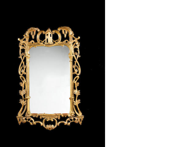 Irish gilt mirror