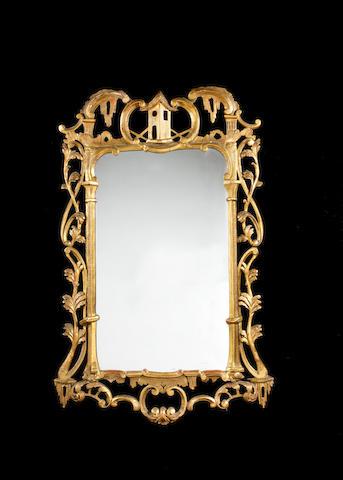 Irish gilt mirror