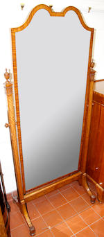 A Waring and Gillow satinwood bedroom suite,