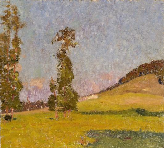David Davies (1864-1939) Evening Glow