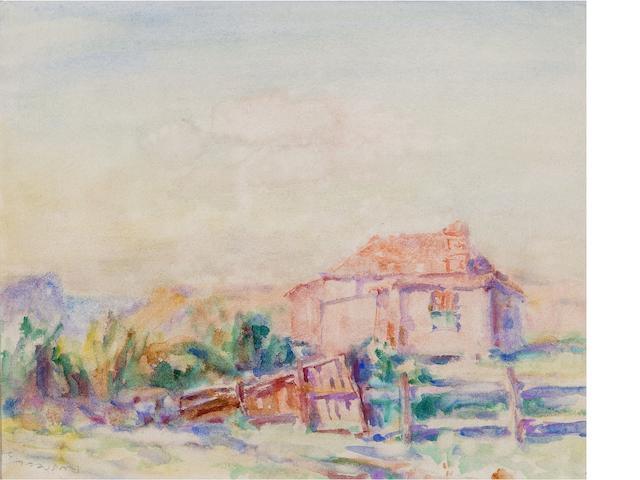 John Peter Russell (1859-1930) Muscovy House 1921