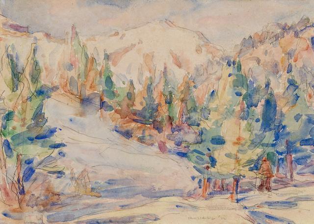 John Peter Russell (1859-1930) Bois de Boulogne 1912