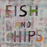 Jon Campbell (born 1961) Fish and Chips 2010
