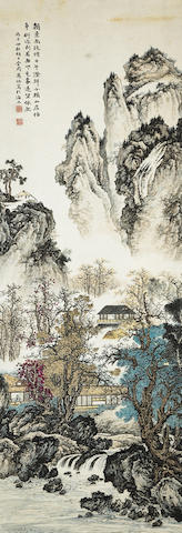 Ma Yi (ca.1886-1937) Misty Mountain House