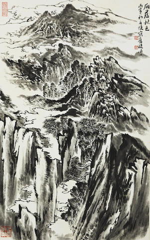 Lu Yanshao (1909-1993) Autumn in Mount Yandang