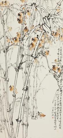 Hu Yuji (Wo Yue Kee, Henry Wo, b.1927) Serenade