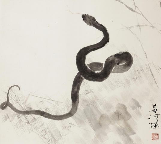 Yang Shanshen (1913-2004) Snake