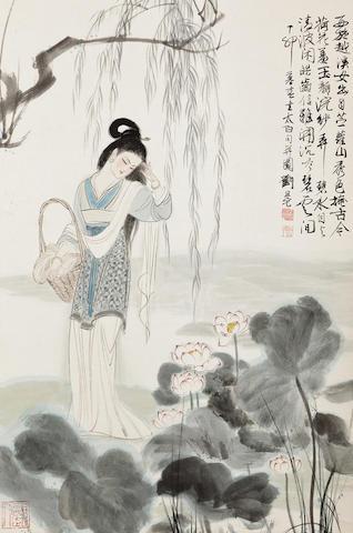 Liu Danzhai (1931-2011) Xishi