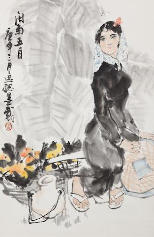 Zhou Sicong (1939-1996) Southern Girl