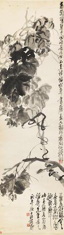 Wu Changshuo (1844-1927) Grape Vines