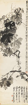Wu Changshuo (1844-1927) Grape Vines