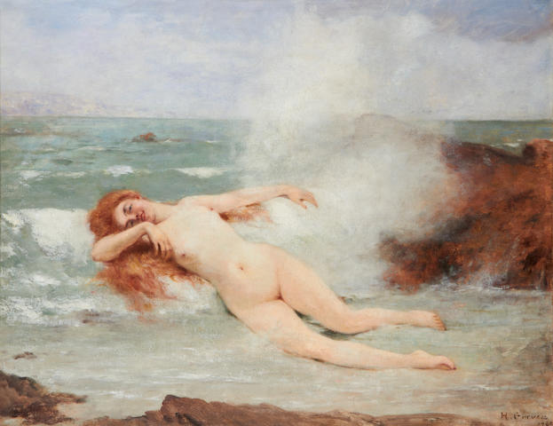 Attributed to Henri Gervex (French, 1852-1929) The Birth of Venus