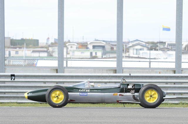 1963 Lotus-Ford Type 27 Formula Junior Racing Single-Seater
