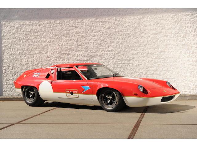 1967 Lotus-Ford  Type 47 GT Racing Coupé