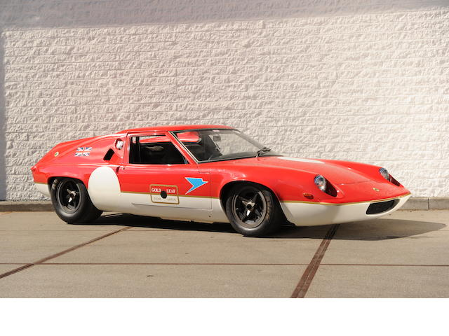 1967 Lotus-Ford  Type 47 GT Racing Coupé
