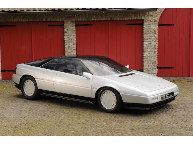 1984 British International Motor Show,1982 Lotus Etna V8 Coupé concept supercar