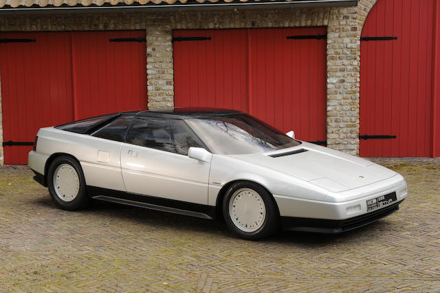 The NEC Birmingham Motor Show,1984 Lotus Etna V8 Berlinetta operational concept car Styling by Giorgetto Giugiaro/Italdesign