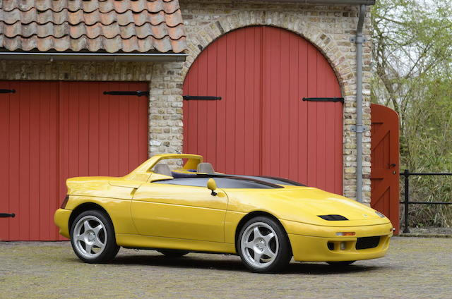 1991 Frankfurt Motor Show,1991 Lotus M200 Speedster fully operational concept