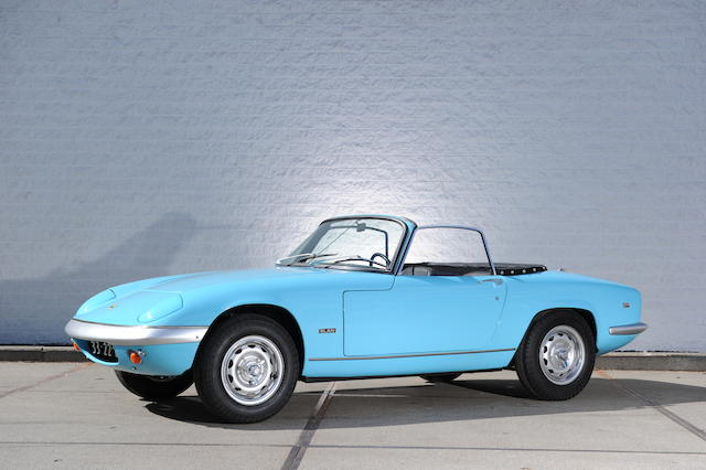 Left-hand drive,1968 Lotus Elan Series 4 SE Roadster  Chassis no. 45/8395