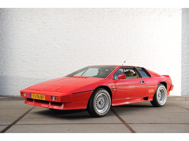 1986 Lotus Esprit Turbo Coupé (LHD)