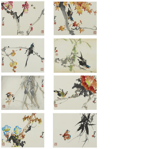 Zhao Shao'ang (Chao Shao'ang, 1905-1998) Birds and Insects
