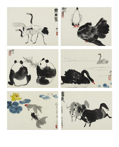 Wu Zuoren (1908-1997) Couples