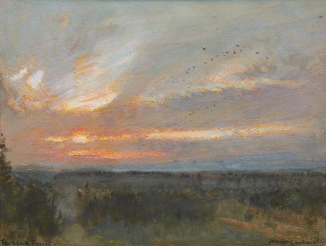 Albert Goodwin, RWS (British, 1845-1932) 'The Black Forest'