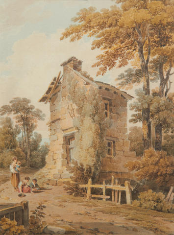 Paul Sandby Munn (British, 1773-1845) At Ambleside, Westmorland