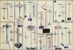 HARRY ROGER CARTWRIGHT: An archive of Prize winning student silver and metal works and a collection of design drawings