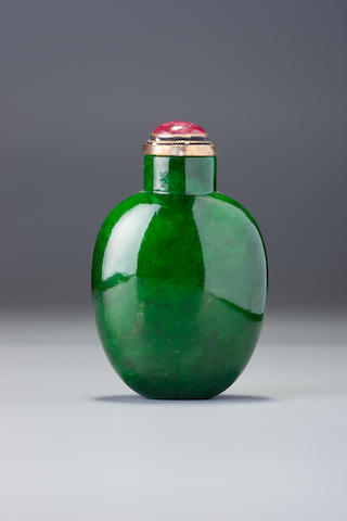 A jadeite snuff bottle 1780–1880