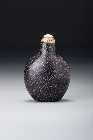 A Shagreen snuff bottle 1723–1820