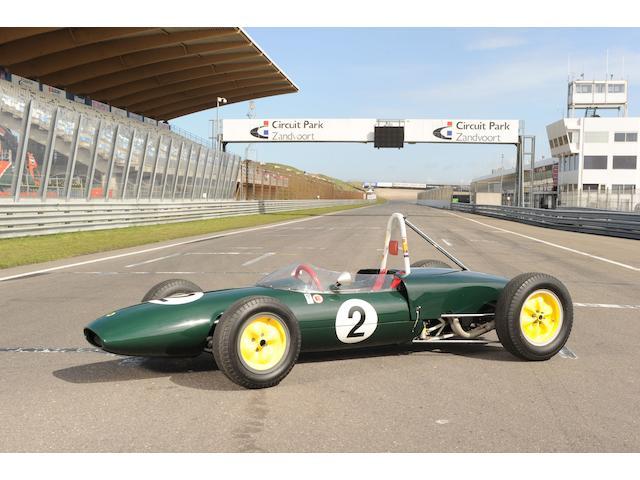 1961 Lotus-Ford Type 20/22 Formula Junior Racing Single-Seater