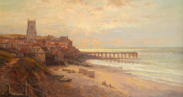 Alfred Augustus Glendening (British, 1840-1921) View of Cromer