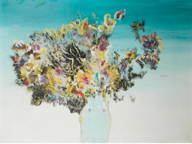Enrico Donati (1909-2008) Vaso di fiori
