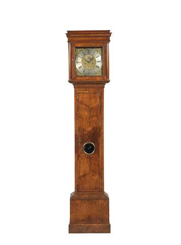Thomas Lodge walnut longcase clock