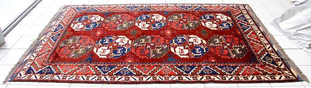 An Afghan carpet, 275 x 185cm