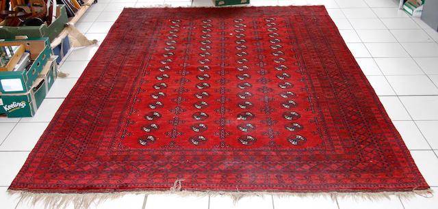 An Afghan carpet, 286 x 210cm