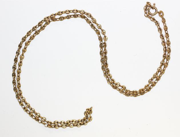 A fine anchor-link chain