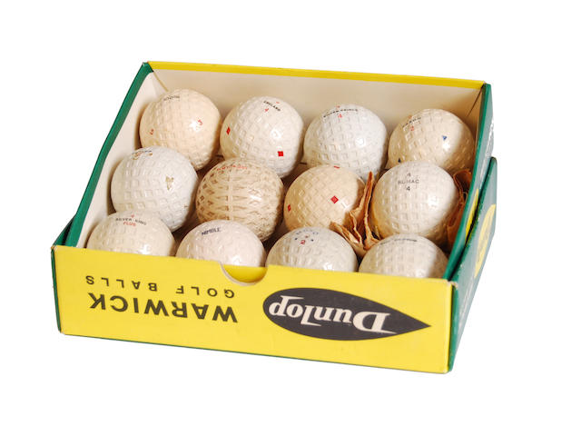 12 mesh or unusual patterned unwrapped golf balls