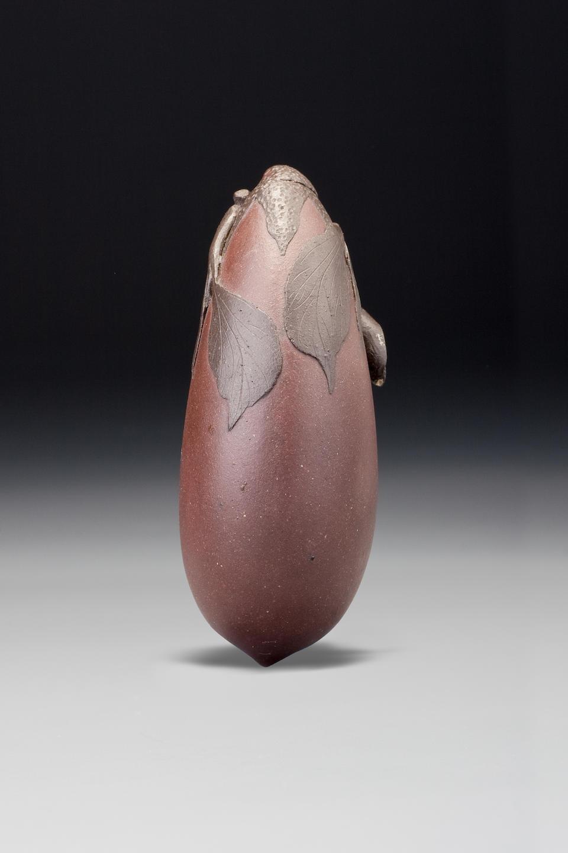 An Yixing stoneware 'aubergine' snuff bottle Yixing, 1780–1900