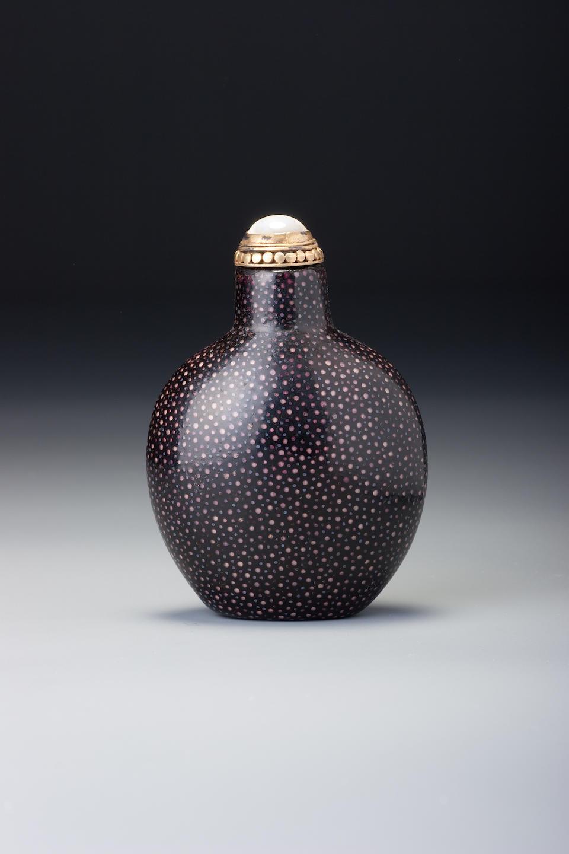 A Shagreen snuff bottle 1723–1820