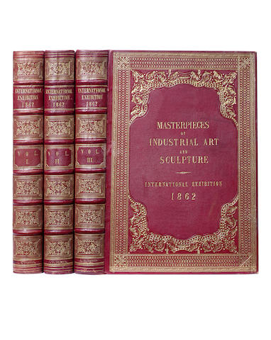 WARING (JOHN BURNLEY) Masterpieces of Industrial Art and Sculpture at the International Exhibition, 1862, 3 vol., FIRST EDITION, 1863