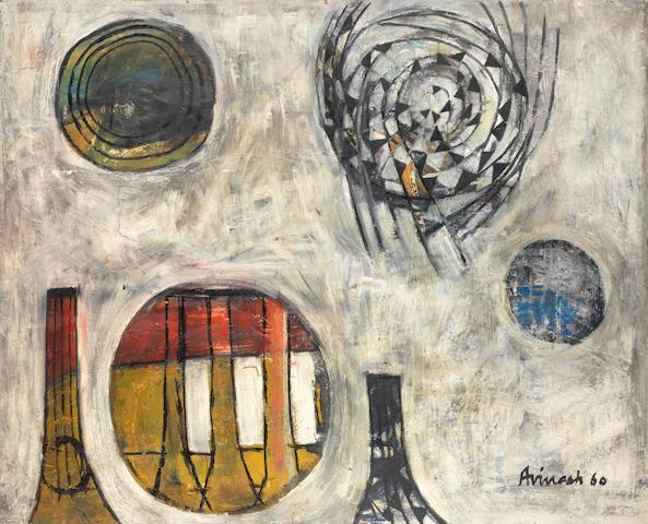 Avinash Chandra (India, 1931-1991) Om,