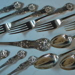 Various Scottish flatware