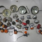 Assorted electric lamps,