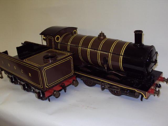 Steam engine with trailer