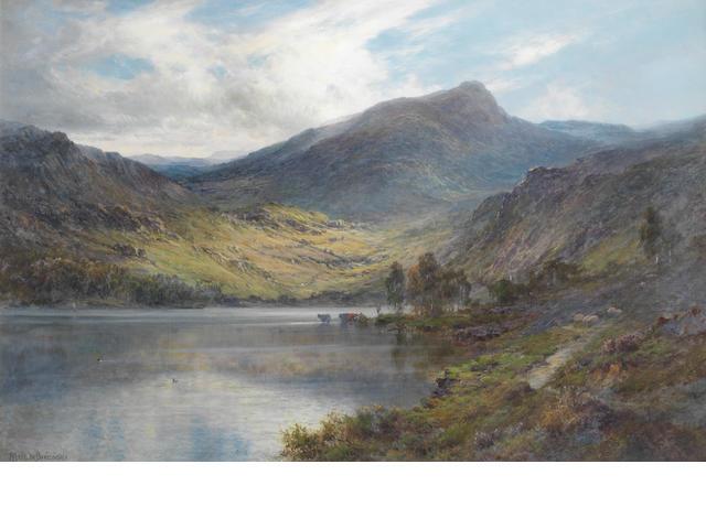 Alfred de Bréanski Snr. (British, 1852-1928) Loch Ness